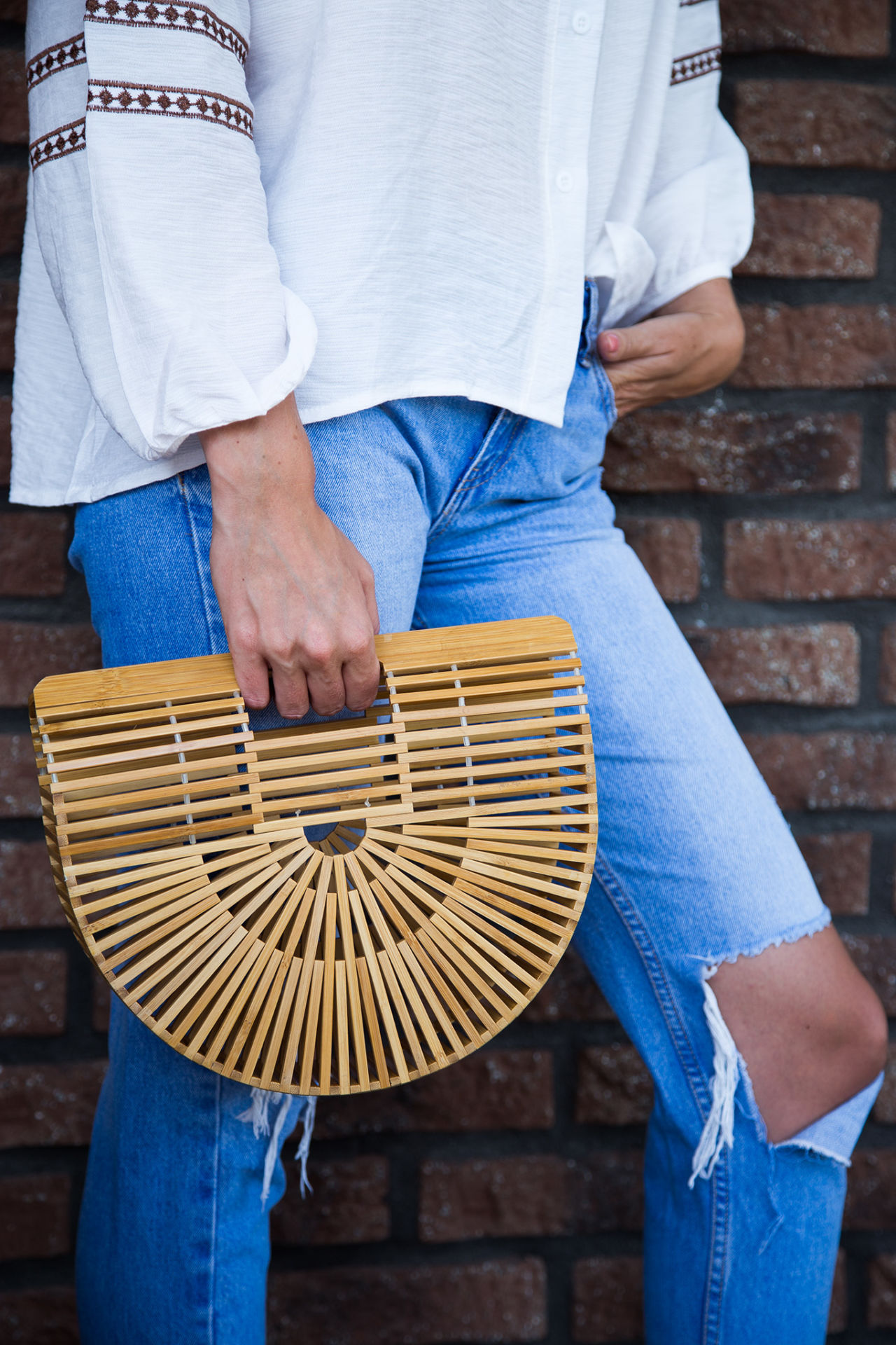 Bambusová kabelka