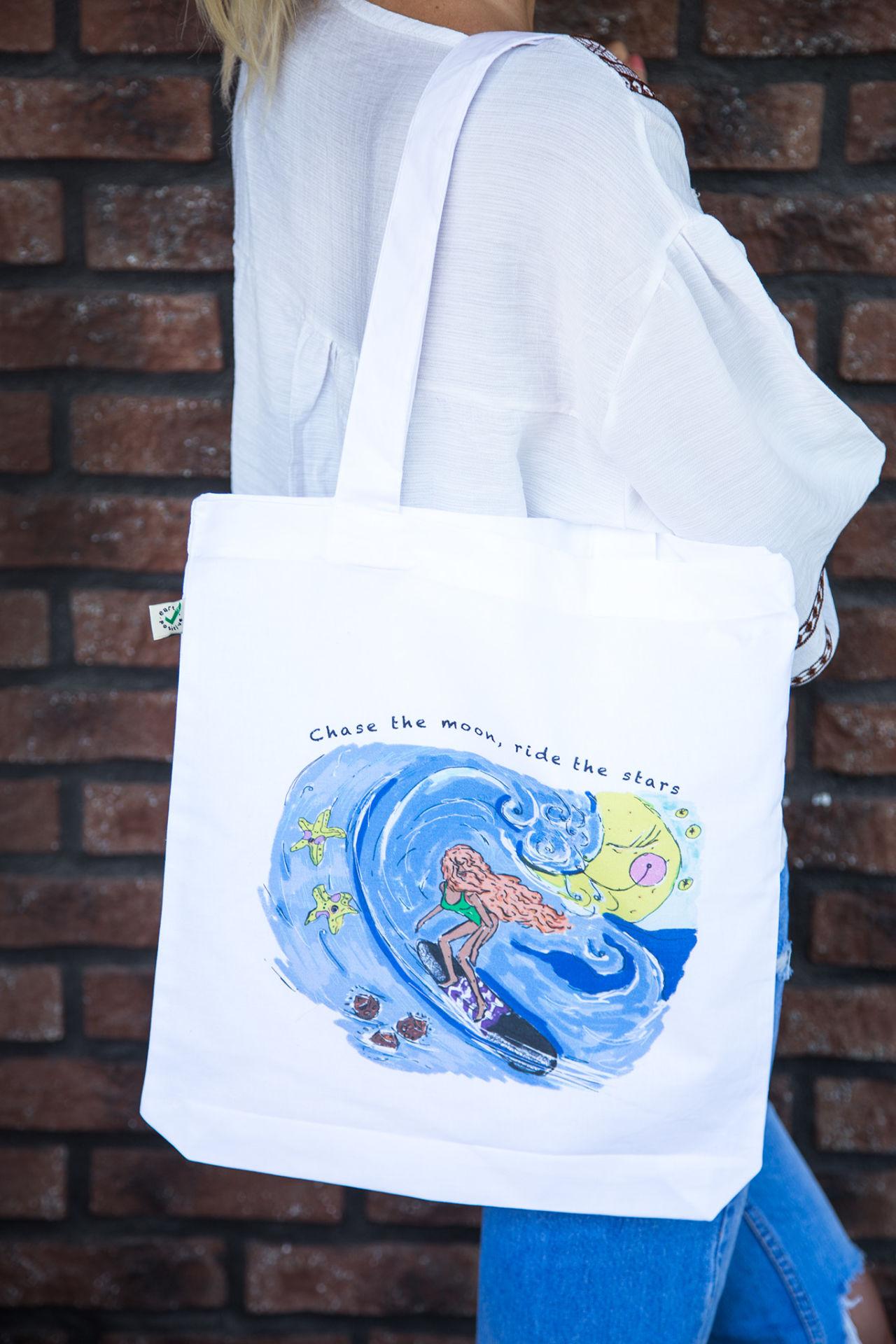 Eko taška Moonlight surfer