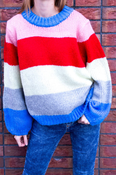 "Pletený sveter ""Meadow"""