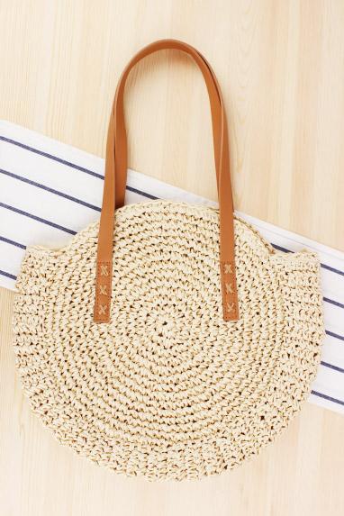 Pletená plážová kabelka Enny