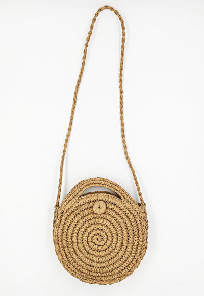 Pletená slamenná kabelka Yogini