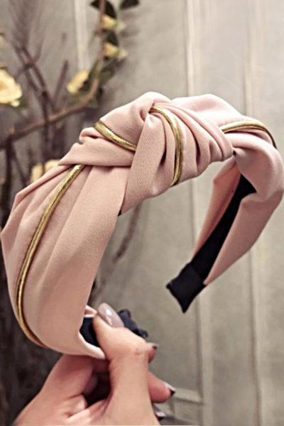 Glamour čelenka pink