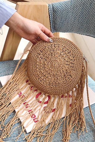 Ručne pletená taška Jáva