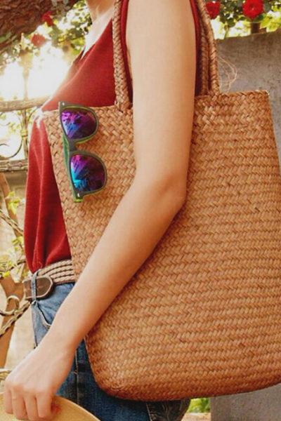 Ručne pletená taška Trch